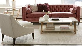 save 30% on custom upholstery