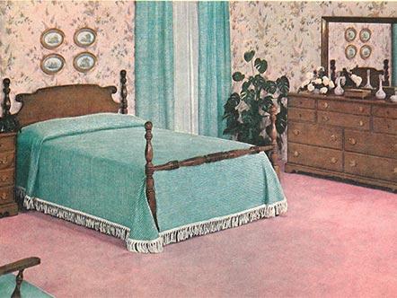 1940s Ethan Allen bedroom