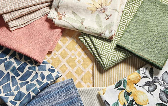 upholstery fabric library