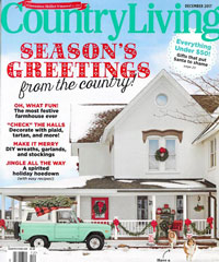 Country Living December 2017