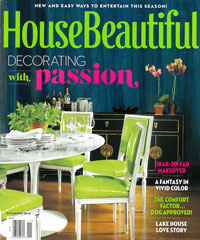 House Beautiful November 2014