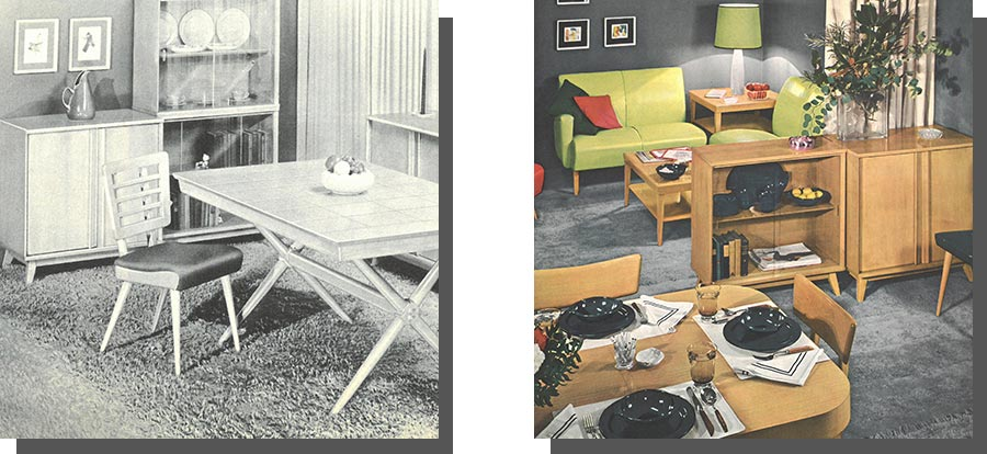 1950s Ethan Allen collections