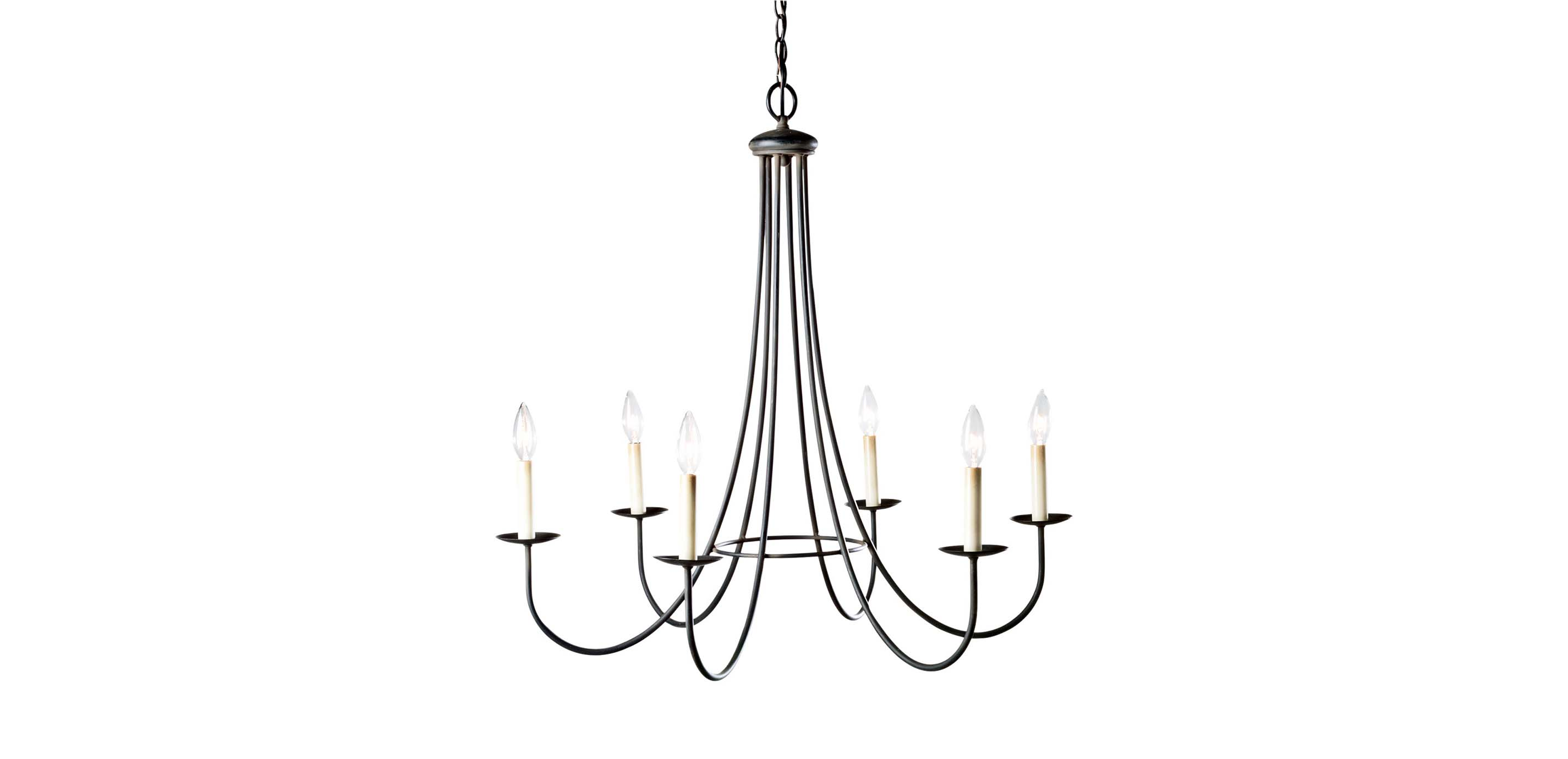 Six light iron chandelier chandeliers images six light iron chandelier largegray aloadofball Images