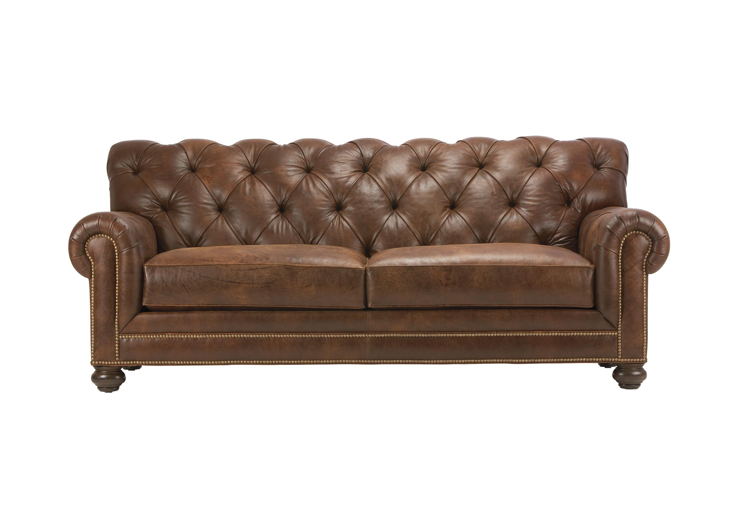 Chadwick Leather Sofa Sofas Loveseats ~ Cheap Tufted Leather Sofa