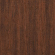 Hyde Park (590): Rich warm dark walnut-colored stain, lightly distressed, burnished edges; some pieces include ash burl drawer fronts with a lighter finish. Weston Media Cabinet