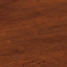 Sparrow (356): Warm brown stain with open-grain texture, glazed, moderately distressed, rasped edges. Emily Petite Desk