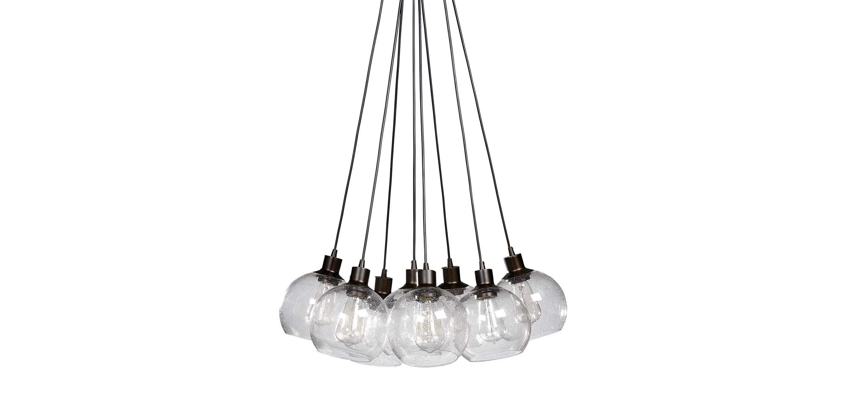 nickel item designs chandelier seeded satin dolan zoom lighting glass