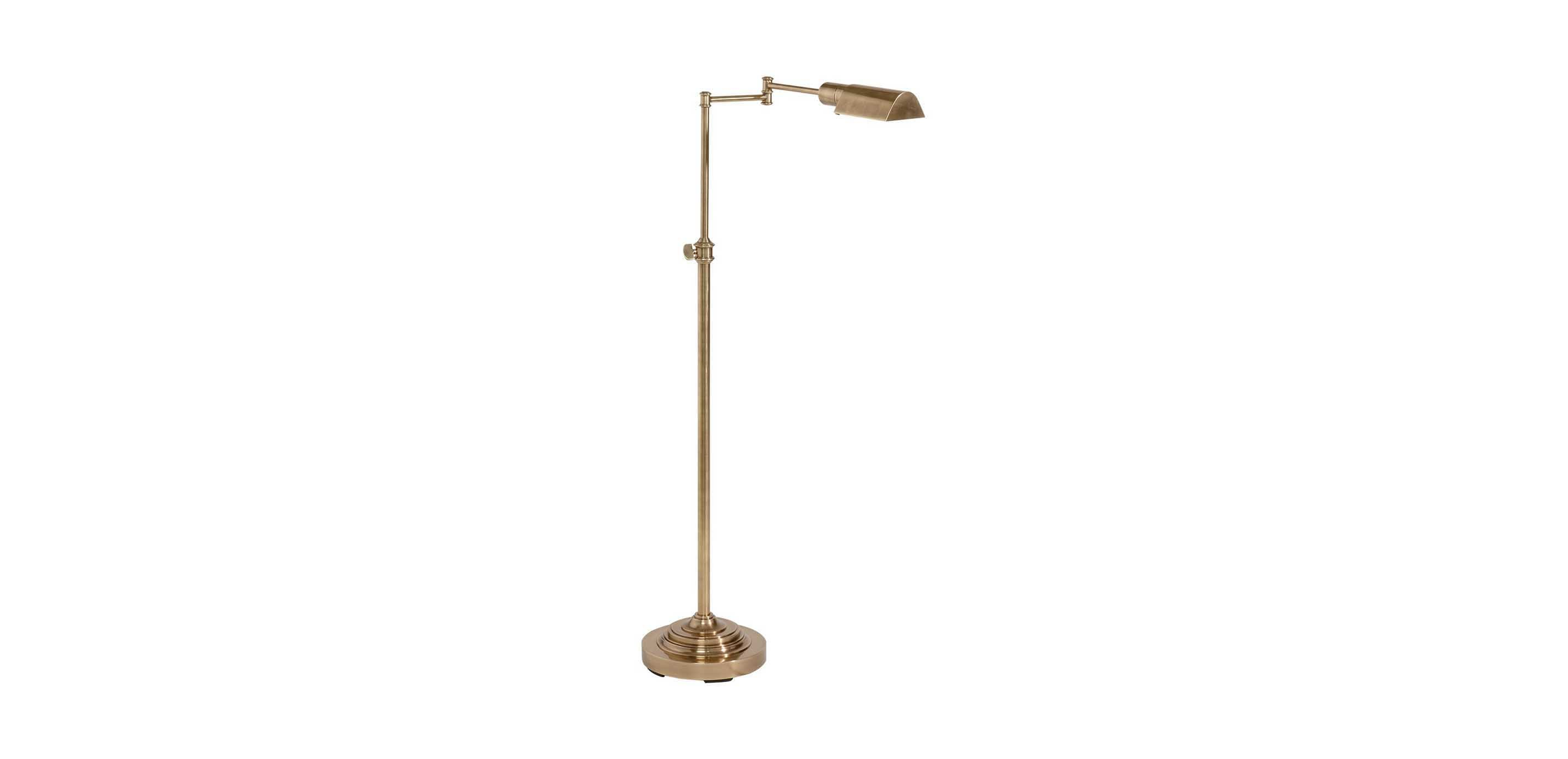 Brass pharmacy floor lamp floor lamps ethan allen for 8 floor lamp
