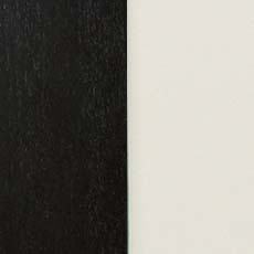 Eclipse/Ascot (790): Black paint with a satin sheen paired with white lacquer. Birkhouse Display Cabinet
