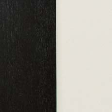 Eclipse/Ascot (790): Black paint with a satin sheen paired with white lacquer. Armoire Vitrée Birkhouse