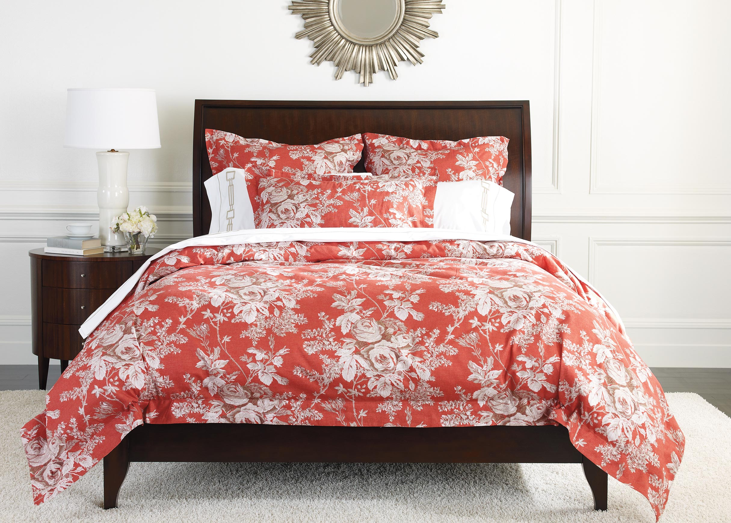 ingrid floral duvet cover and shams  duvet covers - images ingrid floral duvet cover and shams   largegray