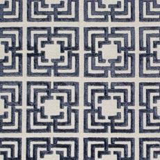 Navy Giverney Rug