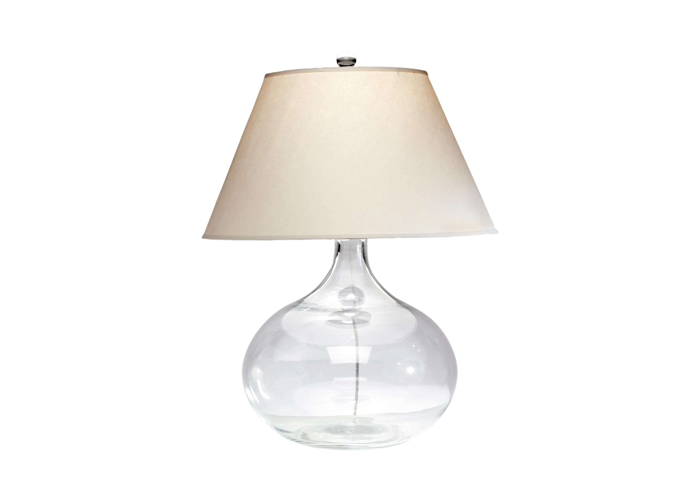 Images Clear Glass Table Lamp , , Large_gray