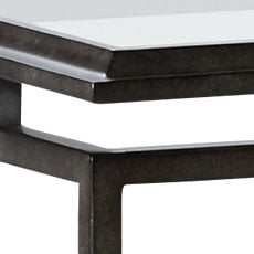 Blackened Pewter (194): Hand-applied aged pewter metal finish with light glaze. Beacon Console Table
