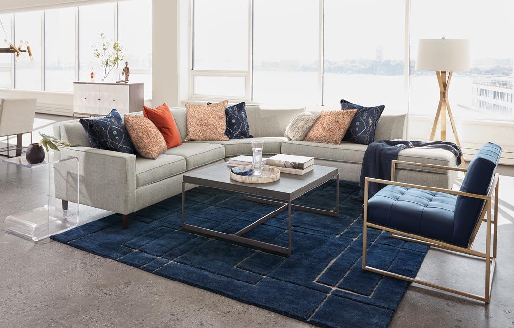Open concept living room ethan allen room inspiration - Open concept living room ...