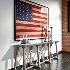 Old Glory Entryway Tile