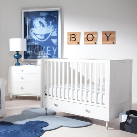 Oh Boy Nursery Tile