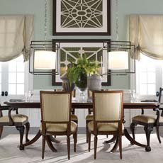 Semiformal Dress Dining Room Tile