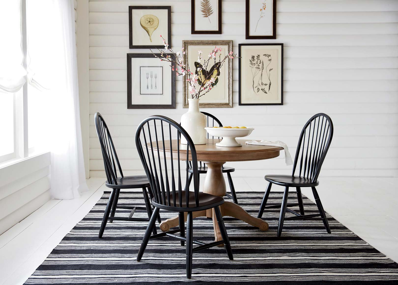 Cottage industry dining room ethan allen for Ethan allen dining room