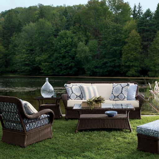 Ethan Allen Outdoor Wicker Furniture