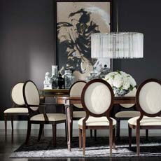 Sophistication Reigns Dining Room Tile
