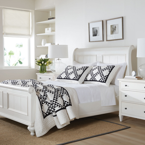 Dress Whites Bedroom Tile