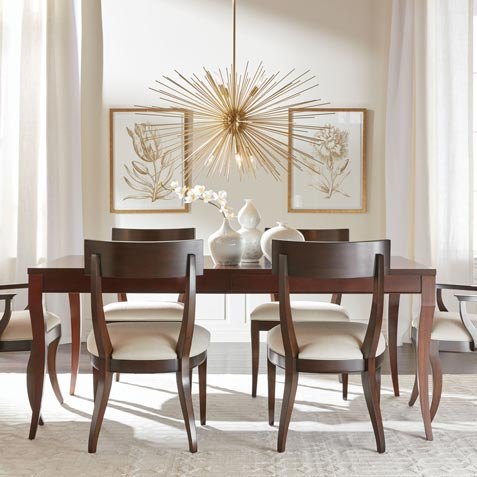 Effortlessly Elegant Dining Room Tile