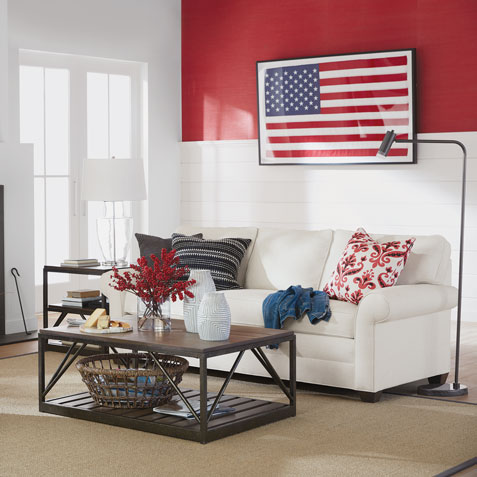 The American Dream Living Room Tile