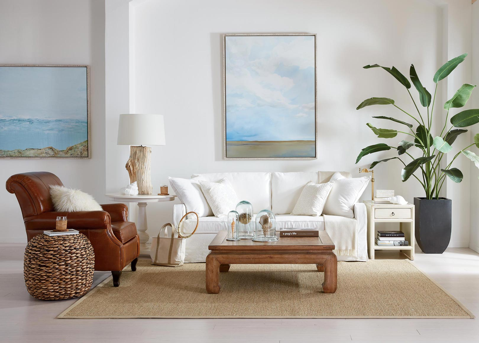 Go Coastal Living Room