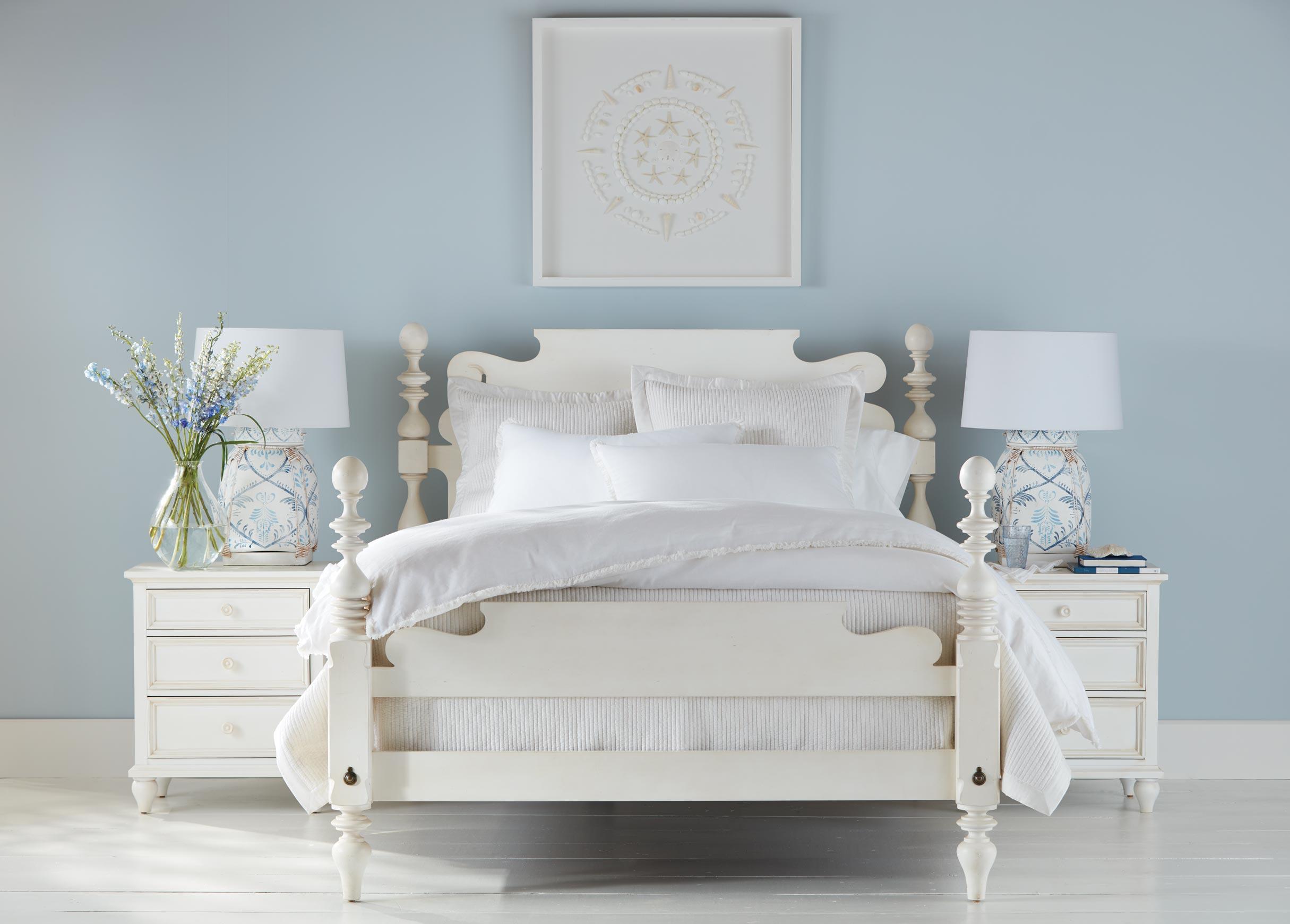modern cottage bedroom  ethan allen