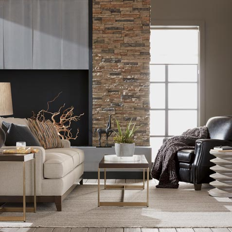 Contemporary Living Room 2 Tile