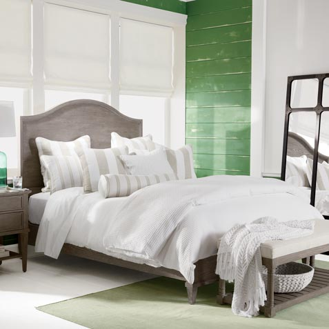 Peacefully Pastoral Bedroom Tile
