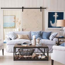 Nautical By Nature Living Room Tile