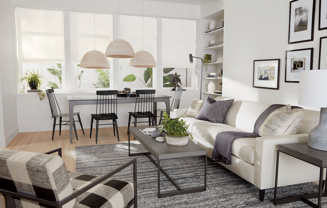 Good Things Come In Small Space Living Room | Ethan Allen