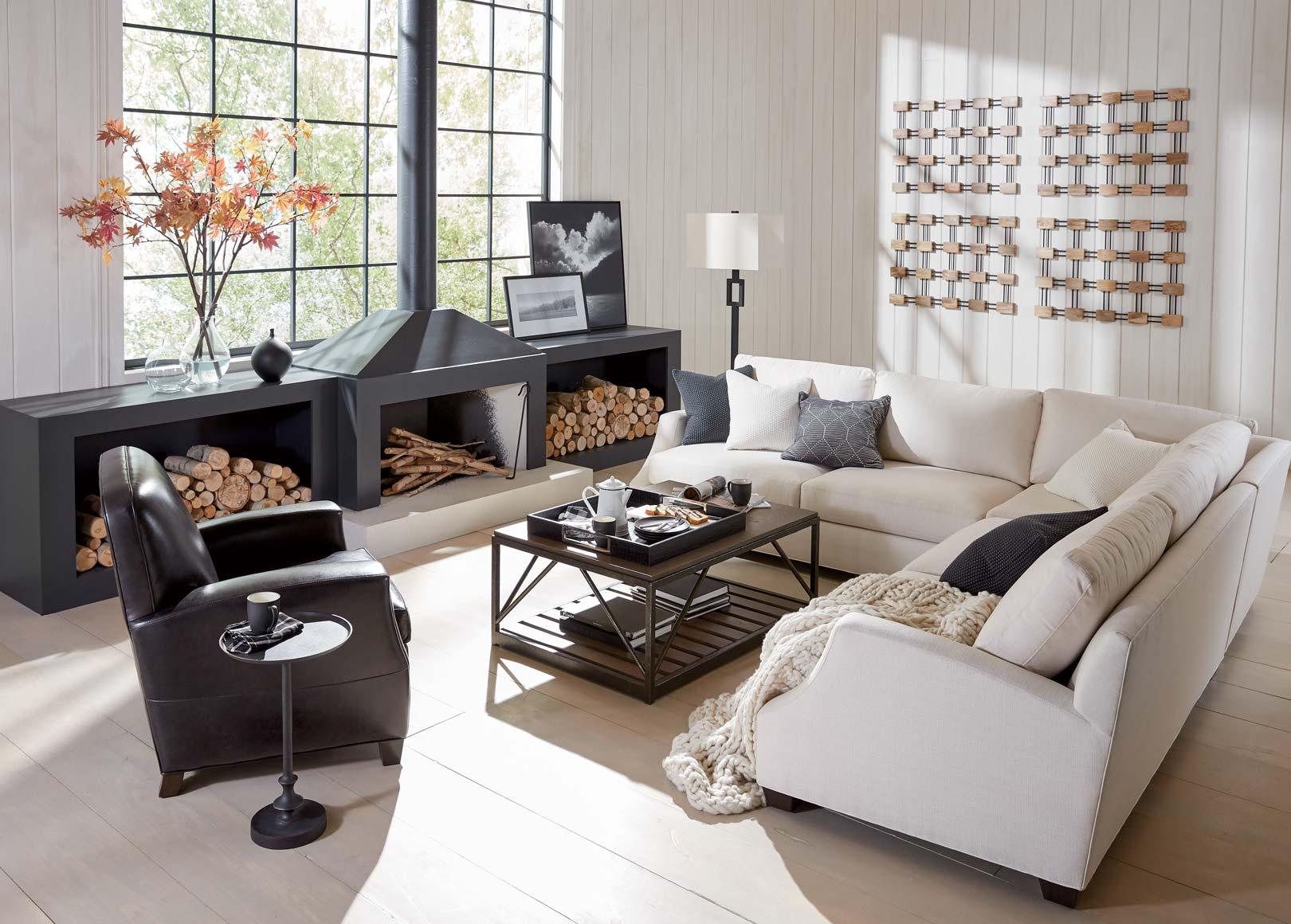 Cozy Living Room Modern Living Room Inspiration Ethan Allen Ethan Allen