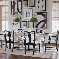Opposites Attract Attention Dining Room Tile