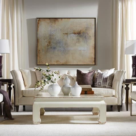 Pure Delight In Cream & White Living Room Tile