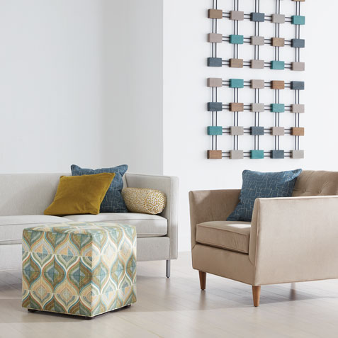Pattern, Pop & Pizazz Living Room Tile