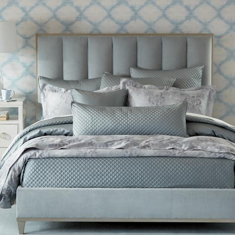 Laid-Back Luxe Bedroom Tile