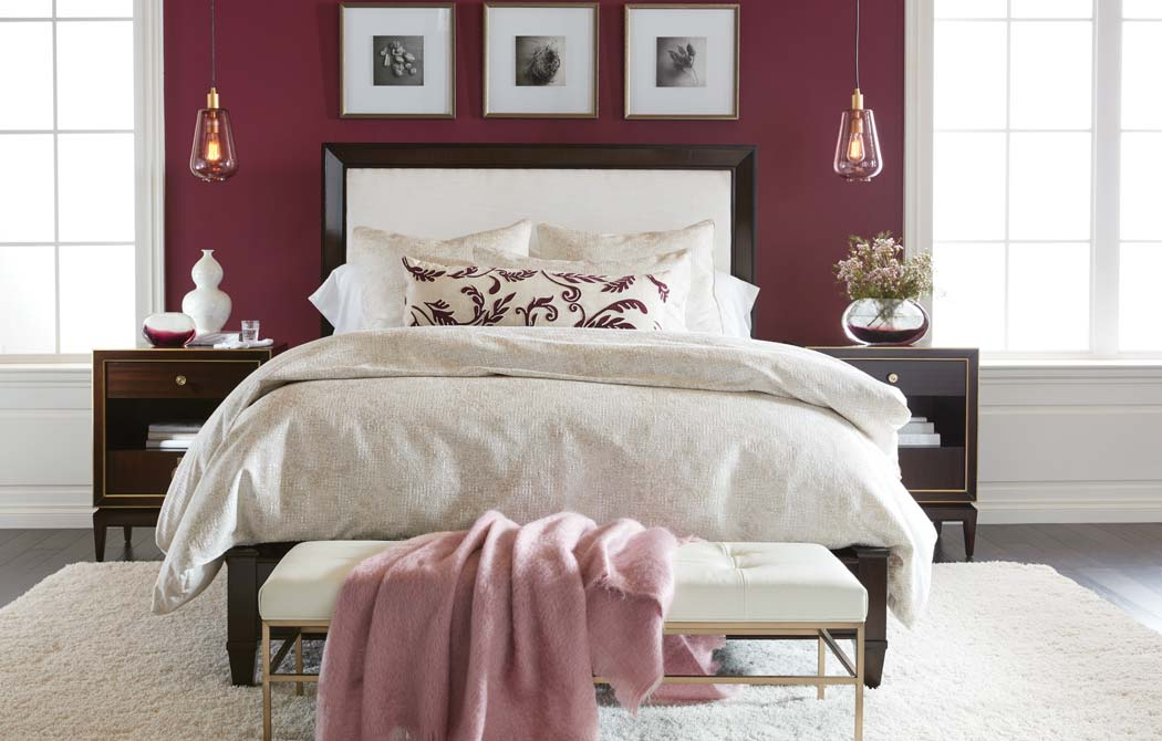 Old Hollywood-Style Bedroom | Ethan Allen Design Ideas ...