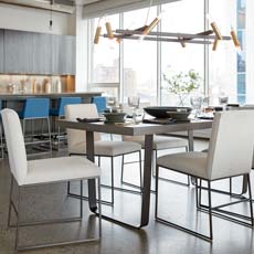 Family-Friendly Modern Dining Room Tile
