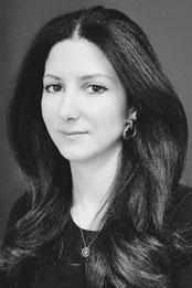 Designer Ghalia Derkeshli